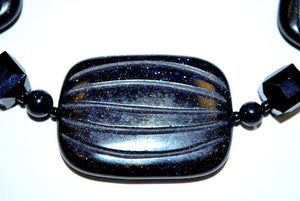 Blue Sandstone Necklace
