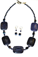 Load image into Gallery viewer, Blue Sandstone Necklace