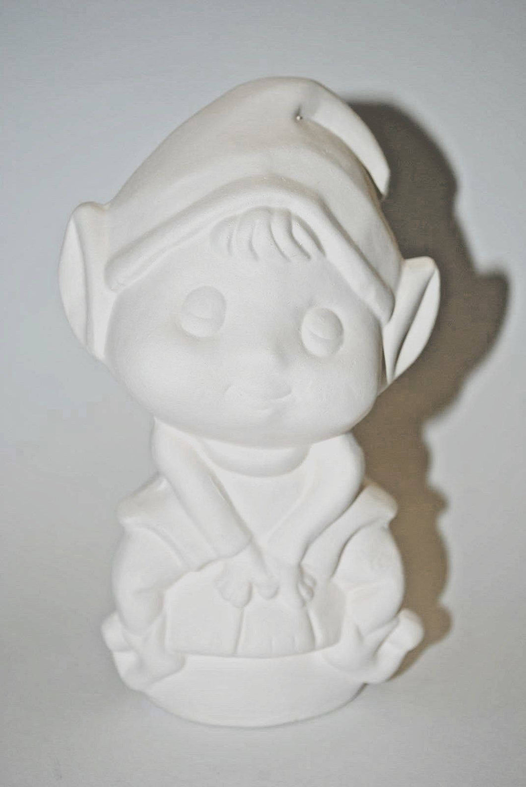 Ceramic Bisque Elf.Ready to Paint Ceramic Bisque Elf