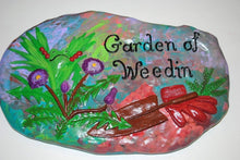Load image into Gallery viewer, Hand Painted Ceramic Stepping Stones,Garden decoration ,Hand Painted Ceramic Stepping Stone.Garden Wall Art.Olga's Treasures Shop