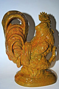 Rooster Centerpiece .Ceramic Rooster. Centerpiece Rooster.Centerpiece Accent.Olga's Treasures Shop