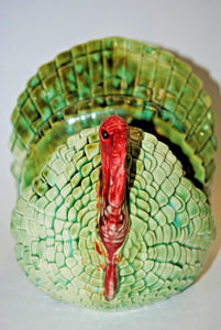 Ceramic Turkey.Handmade Ceramic Turkey Napkin Holder.Napkin Holder Table Decorations.Olga Beads Designs