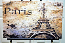 Load image into Gallery viewer, Paris canvas.Paris Canvas Print. Giclee Art.Olga's Treasures