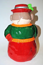 Load image into Gallery viewer, Ceramic Snow Lady.Hand Painted Figurine.Snow Lady.Olga's Treasures Shop
