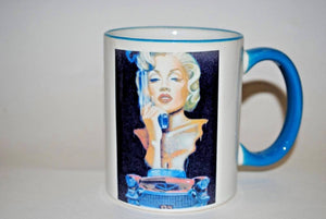 Marilyn Monroe.Marilyn Monroe Coffee Mug.Olga's Treasures Shop