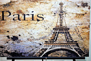Paris canvas.Paris Canvas Print. Giclee Art.Olga's Treasures