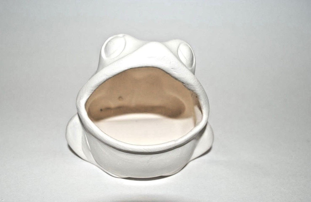 Small Frog.Ceramic Frog.Ready to Paint Frog.Ceramic Bisque frog. Bisque Paint you Own.Olga's Treasures Shop