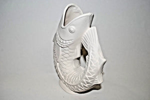 Fish Vase.Ceramic Bisque Fish.Ready to Paint Fish Vase.Bisque Fish Vase.Olga Treasures Shop