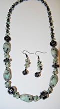 Load image into Gallery viewer, Kiwi Jasper and Hematite Gemstone.