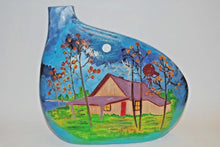 Load image into Gallery viewer, Hand Painted Ceramic Vase.Unique Ceramic Vase.Handmade Ceramic Vase.Olga's Treasures Shop