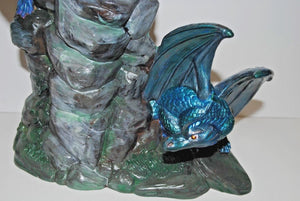 Hand Painted Ceramic Dragons