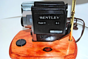 Vintage Photo Camera Table Lamp.Table LampVintage Bentley photo Camera Table LAmo.Olga's Treasures Shop