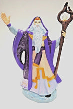 Load image into Gallery viewer, Fall Wizard.Ceramic Fall Wizard.Handmade Wizard.Doc Holliday Wizard.Hand Painted Wizard.Fantasy Figurines.Olga's Treasures Shop