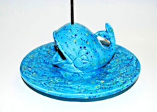 Load image into Gallery viewer, Ceramic Whale Incense Holder Plate.