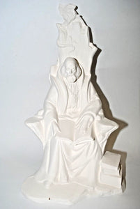 "Ceramic Summer Wizard.Ready-To-Paint ""Summer Wizard"".Ceramic Bisque Summer Wizard"".Olga's Treasures Shop"