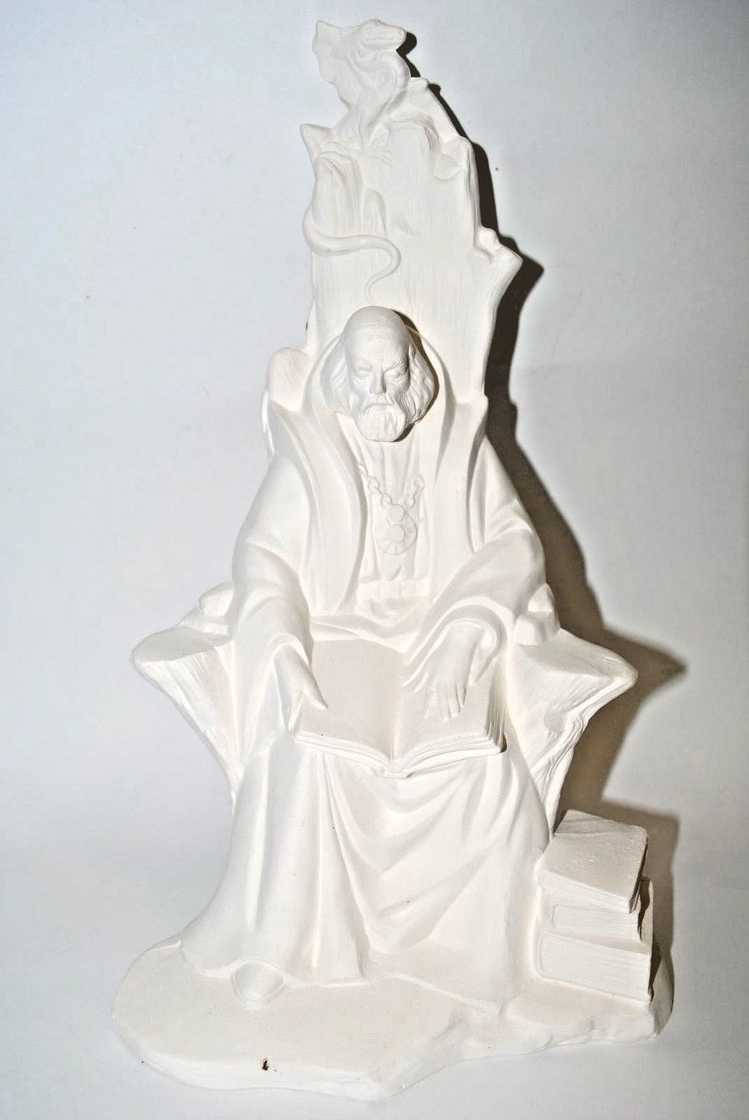 Ceramic Summer Wizard.Ready-To-Paint