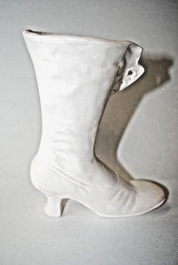 Shoes.Small Victorian Boots Ceramic Bisque.Ready-to-Paint.