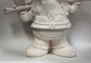 Large Gnome Ready to Be Painted.