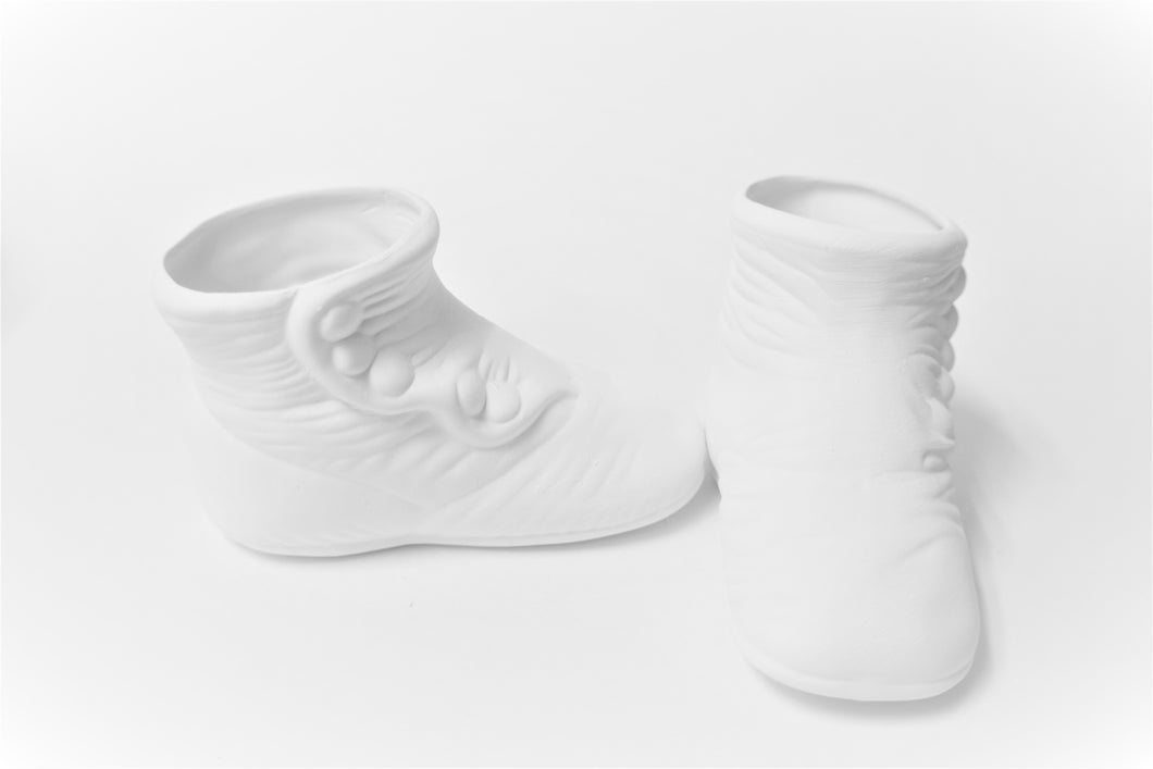Large baby Shoe ( Ready to Paint)