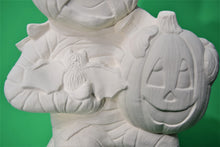 Load image into Gallery viewer, Large Sitting Mummy with Pumpkins ( Ready to Paint)