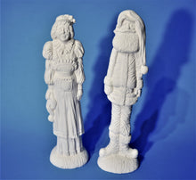 Load image into Gallery viewer, Mr and Mrs Claus Figurines Ready to Paint.