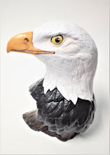 Load image into Gallery viewer, Eagle.Ceramic Eagle.Hand Painted Eagle Head.Eagle Head.Olga's Treasures Shop
