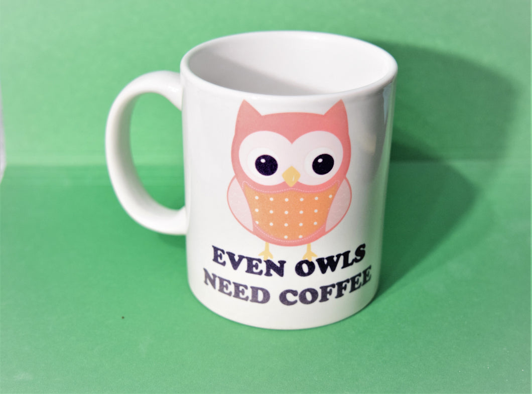 Owl Mug for Everyone.