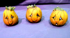 4 Pumpkins Ready to Paint