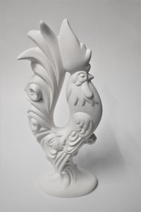 Elegant Rooster Ready to Paint