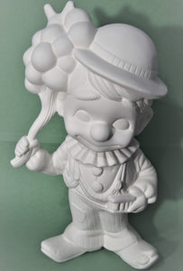 Ceramic Smiley Clown Ready to Paint.
