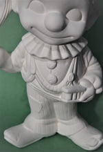 Load image into Gallery viewer, Ceramic Smiley Clown Ready to Paint.