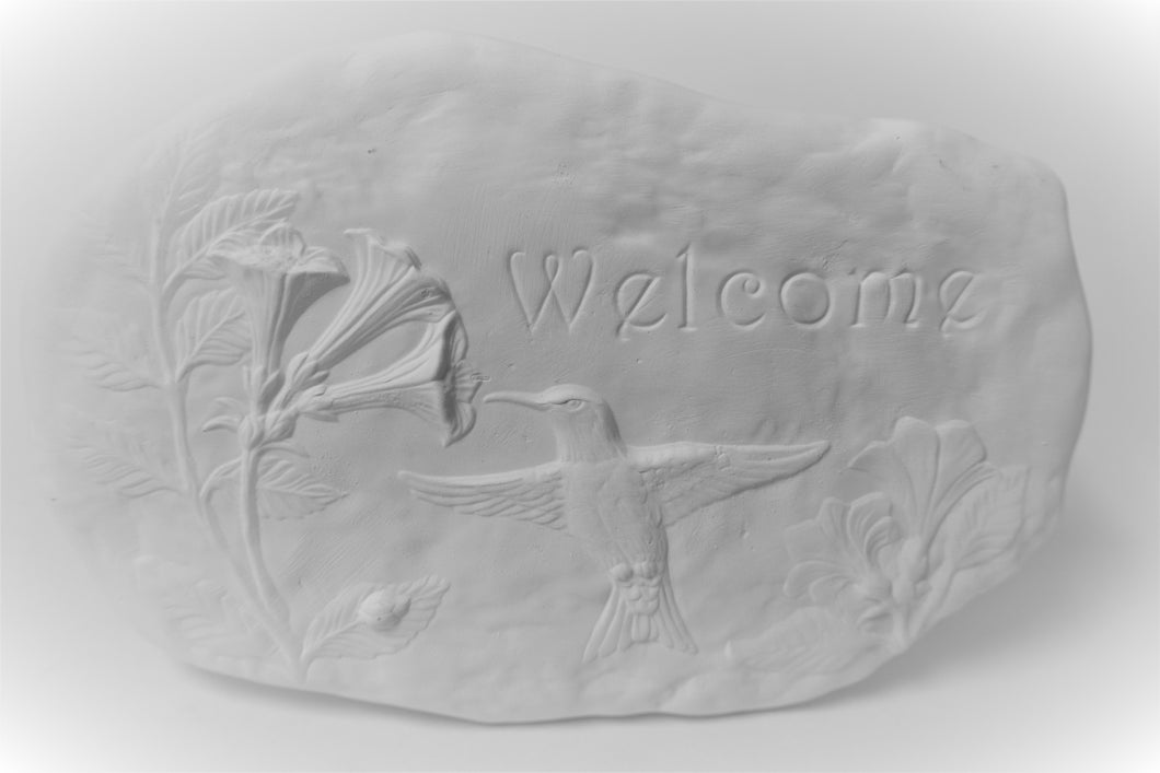 Welcome Sign Plaque Unpainted