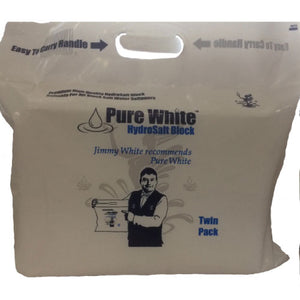 Pure White Block Salt - Twin Pack (8kg)