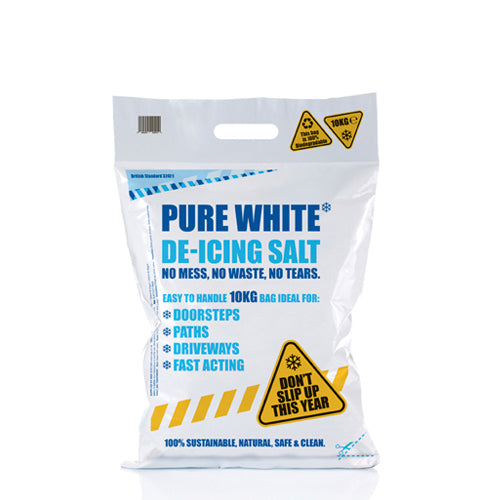 Pure White De-Icing Salt 10kg