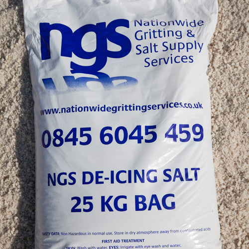 NGS White De-Icing Salt 25kg