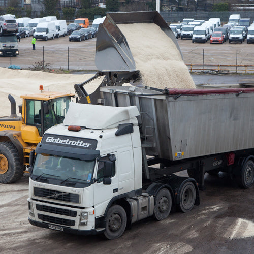 White De-Icing Salt Bulk Lorry approx. 30 tonne