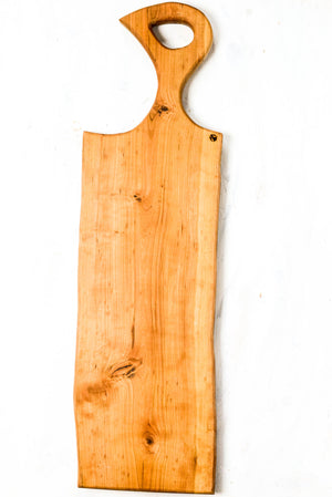 Live Edge Serving Tray with Handle #003