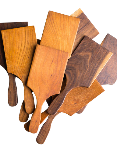 The flat, thin edge and the slight curve of this wooden cookie spatula are specifically made to help you take your cookies from the oven to your cooling rack.