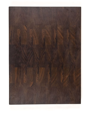 "Large Walnut End Grain Cutting Board - 16"" x 12"" x 1.5"""