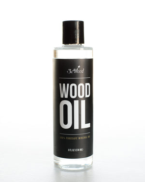 Our BoWood Wood Oil is formulated to maintain and preserve the beauty of all wood kitchenware and is made using highly refined, food grade mineral oil.