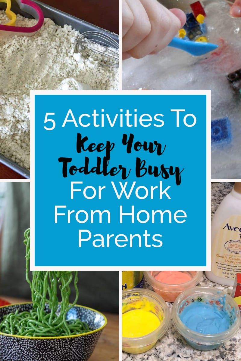 5 Activities To Keep Your Toddler Busy For Work From Home Parents