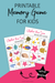 Free Printable Under the Sea Memory Game For Kids