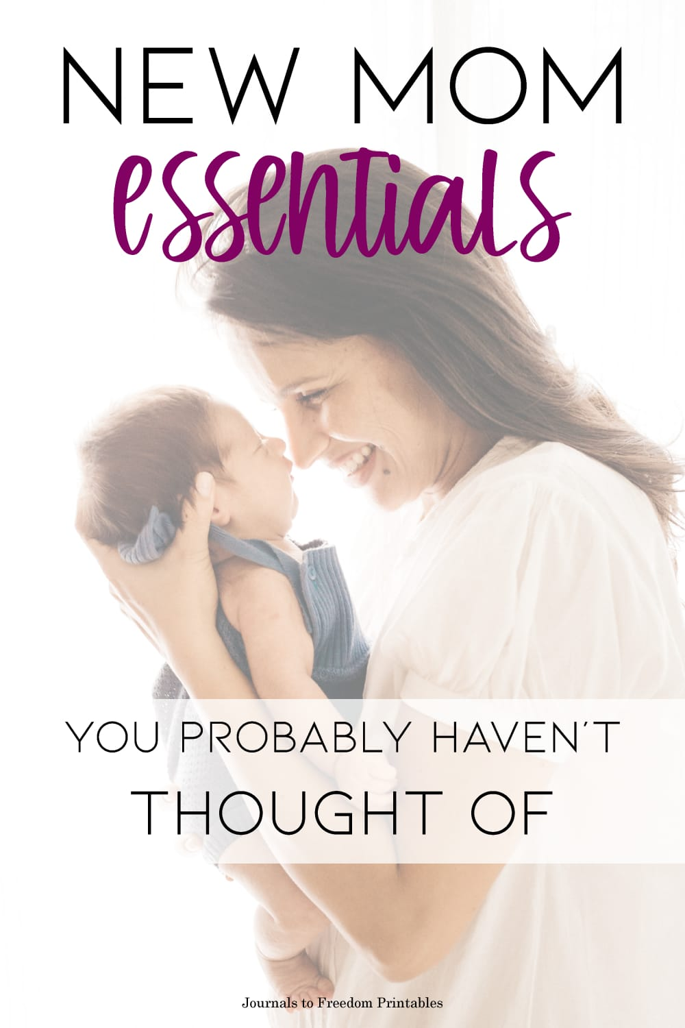 6 New Mom Essentials You Probably Haven't Thought Of