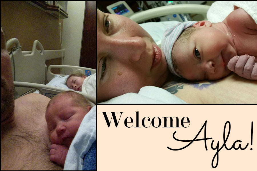 Welcome Ayla! Free Birth Story Printable