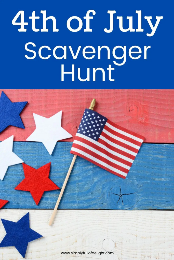 Free Printable 4th of July Scavenger Hunt