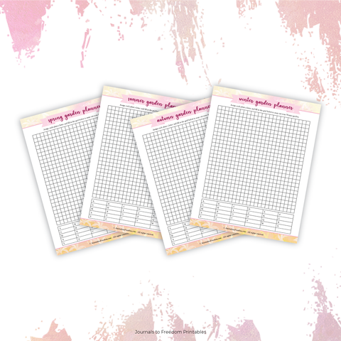 printable square foot grid garden planner