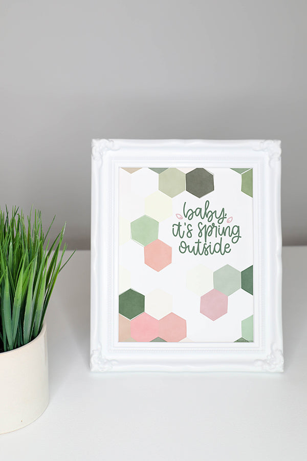 Printable Spring Wall Art