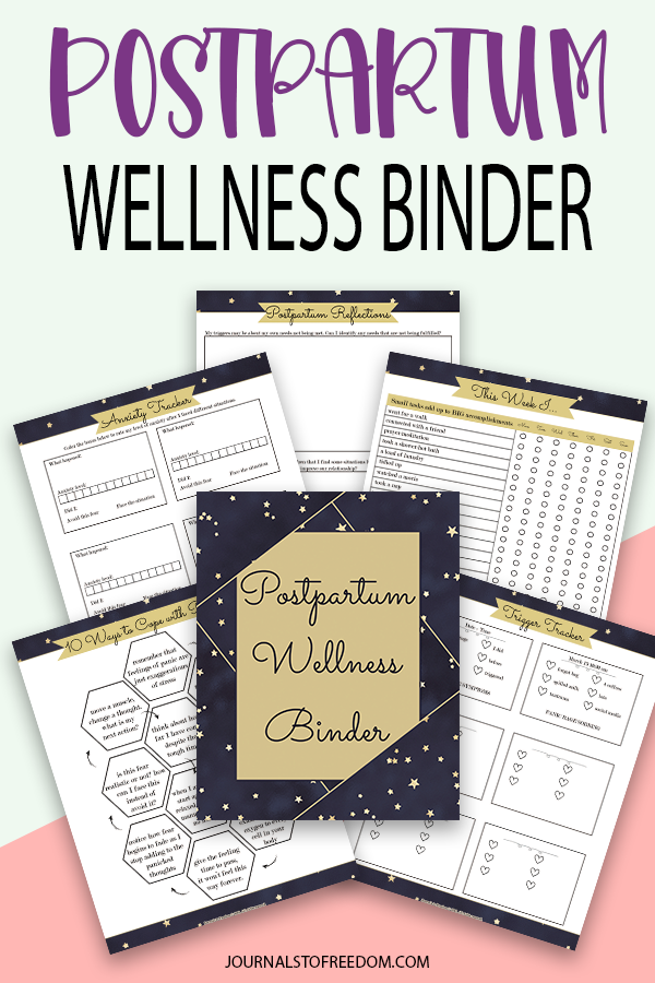 printable Postpartum Wellness Binder