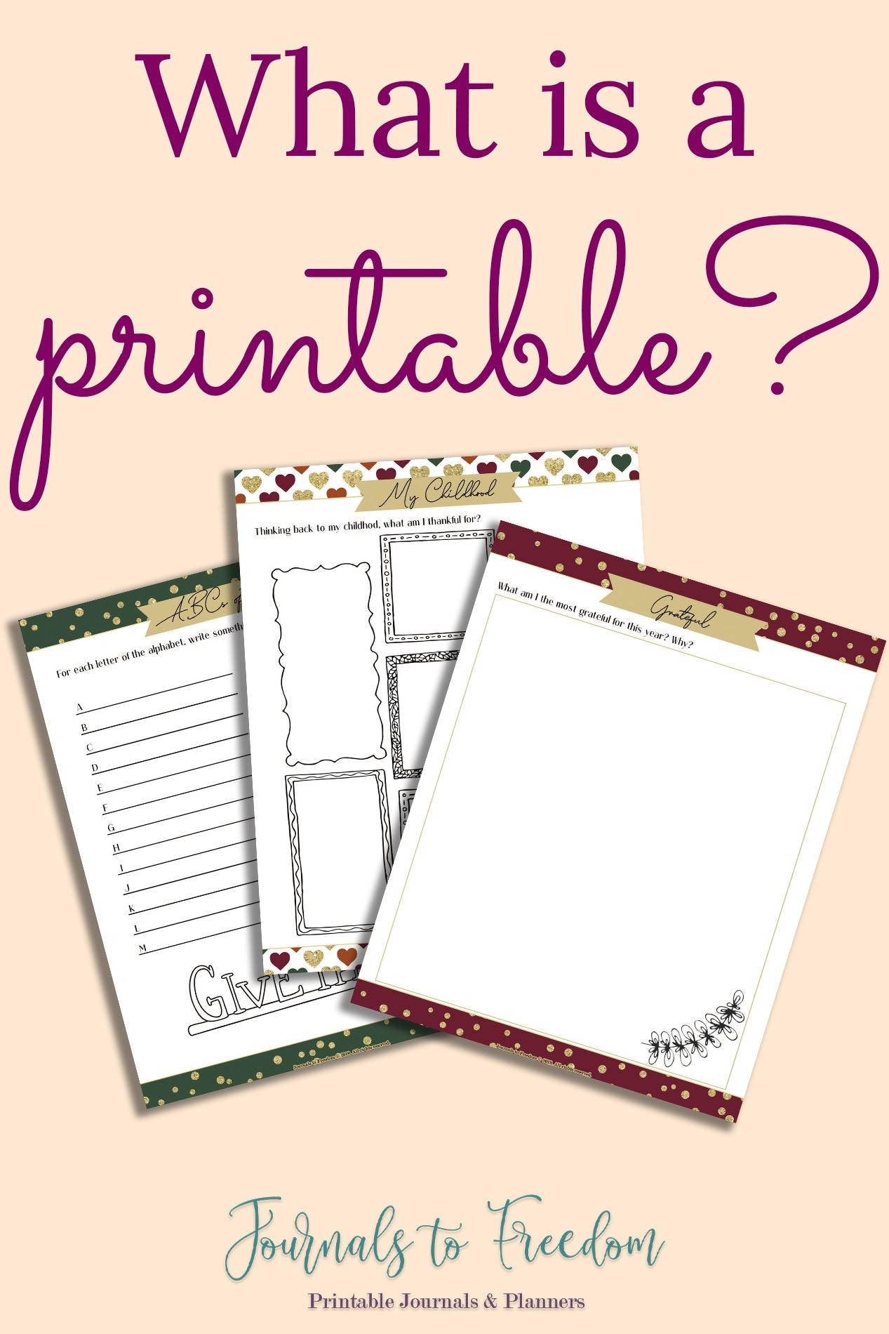What is a Printable