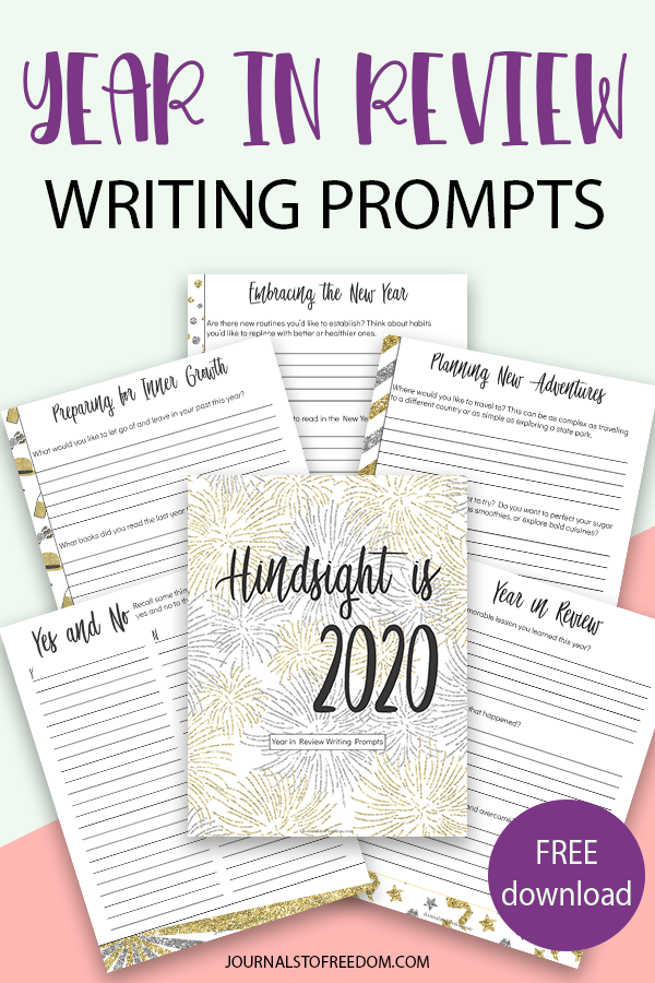 Free Printable Year In Review Writing Prompts